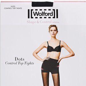 Wolford Dots Control Top Sheer Tights